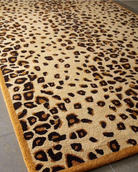 """Kalahari"" Animal Print Rug, 5' x 8'"