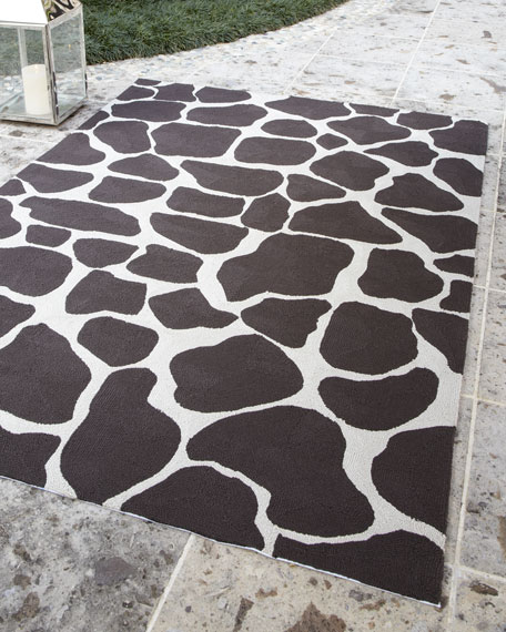 """""""Nevaeh"""" Spotted Rug, 5' x 7'6"""""""