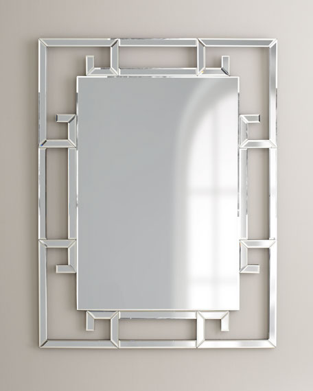 """Venitia"" Mirror with Key Border"