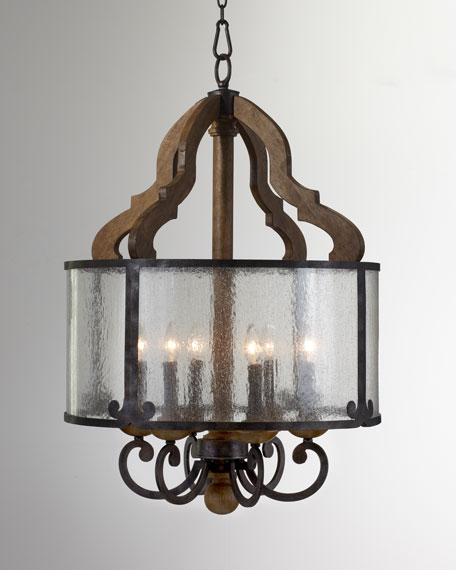 """Ashford"" Six-Light Round Pendant"