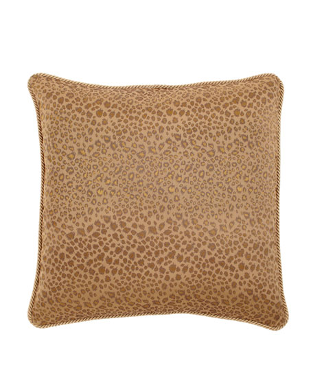 Leopard-Print European Sham