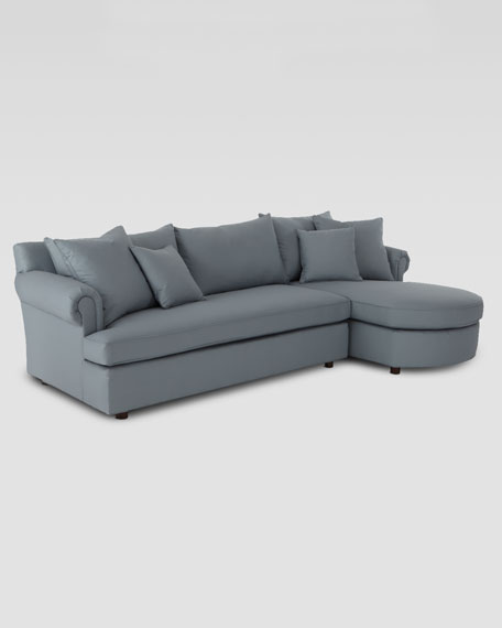 """Ellsworth"" Two-Piece Sectional"