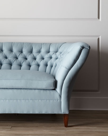 """Ellsworth"" Tufted-Curve Sofa"