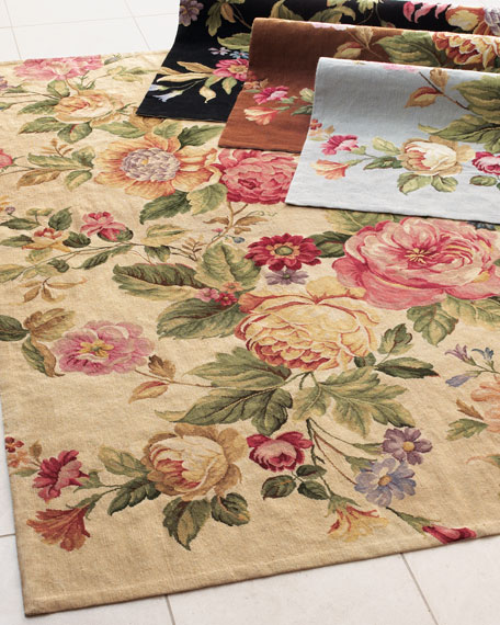 Quot Waterfall Rose Quot Rug 3 9 Quot X 5 9 Quot