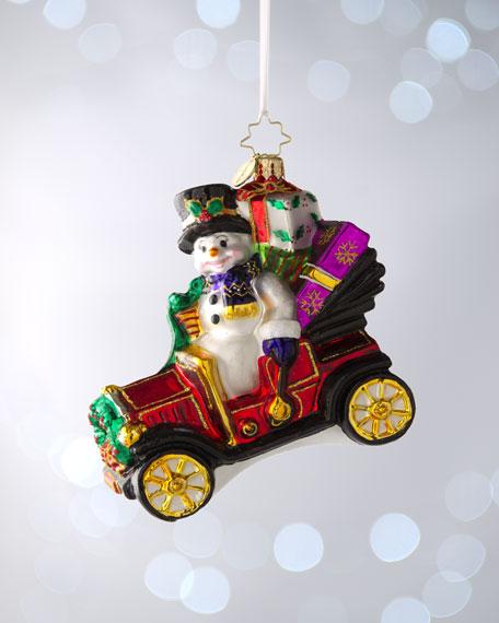 """Model T. Frosty"" Christmas Ornament"