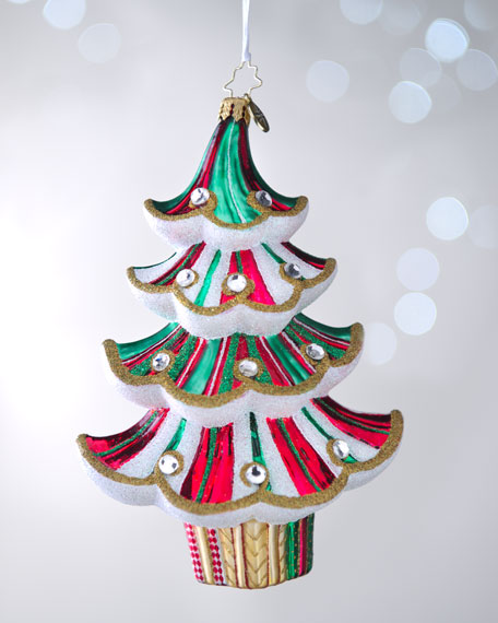 """""""Spiral Spruce"""" Christmas Ornament"""