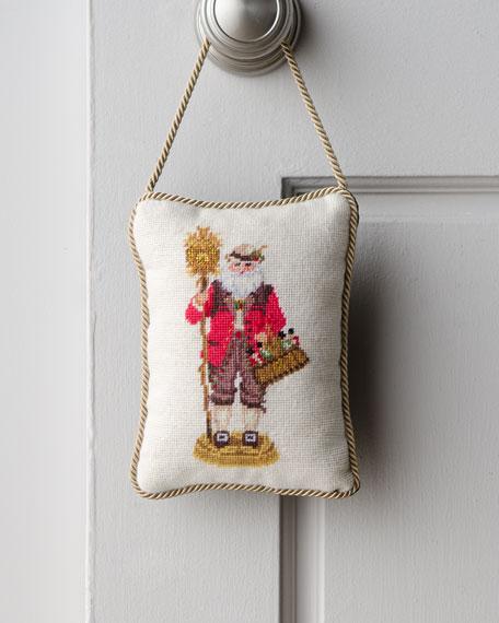 """""""German Santa"""" Door Hanger"""