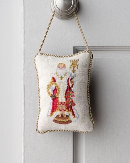 """""""Napoleon Bee"""" Santa Door Hanger"""