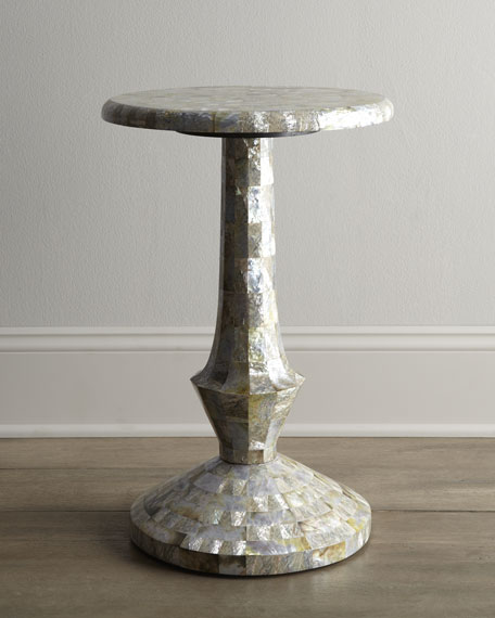 Abalone Black Lip Shell Table