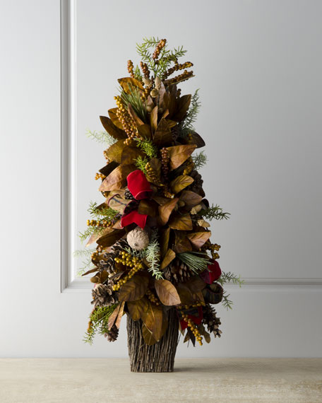 """""""Alpine"""" Tabletop Christmas Tree"""