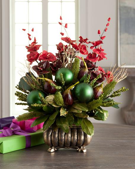 """""""Bordeaux"""" Floral Arrangement"""