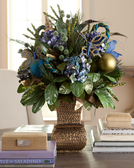 """Blue Spruce"" Christmas Arrangement"