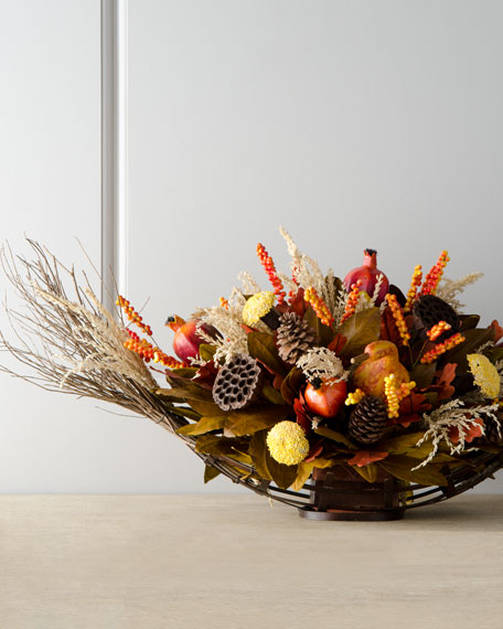 HARVEST OVAL CENTERPIECE