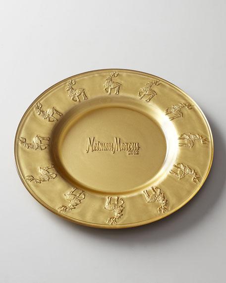 2012 Reindeer Platter