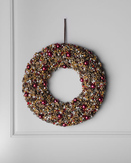 """Bordeaux"" Wreath"