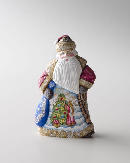 """""""Dancing Santa"""" Sculpture"""