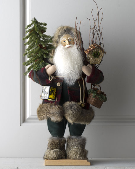 """Santa of Cedar Lodge"" Figure"