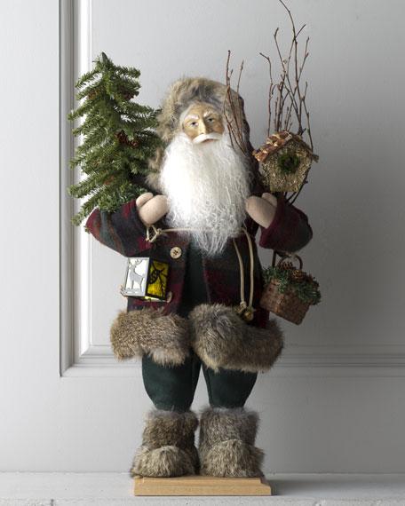 """""""Santa of Cedar Lodge"""" Figure"""