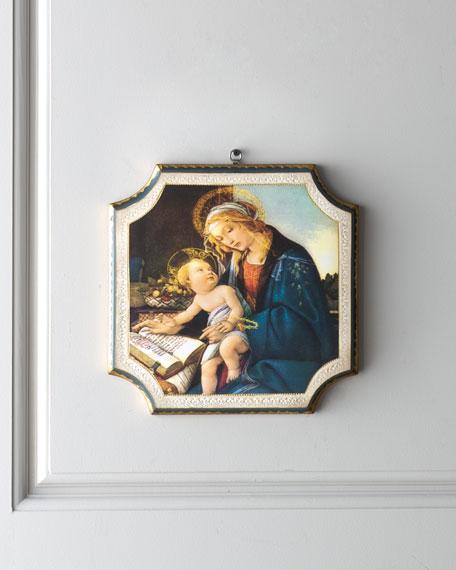 """Boticelli"" Madonna & Child Print"