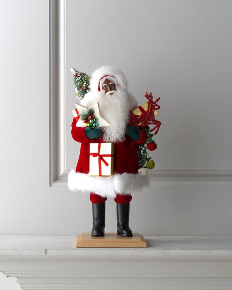 """Jolly Mr. Claus"" Santa"