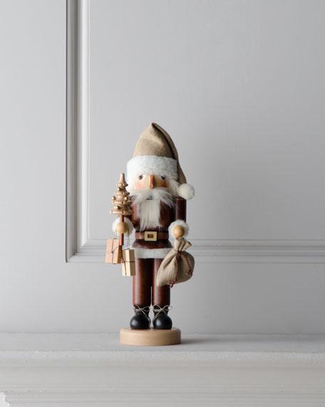 Nutcracker Santa in Natural