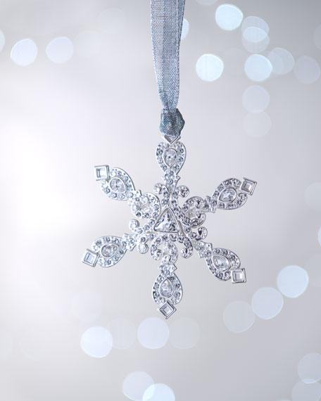 """Aspen Star"" Snowflake Christmas Ornament"