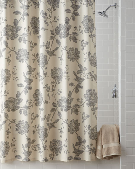 """Bliss"" Bird Shower Curtain"