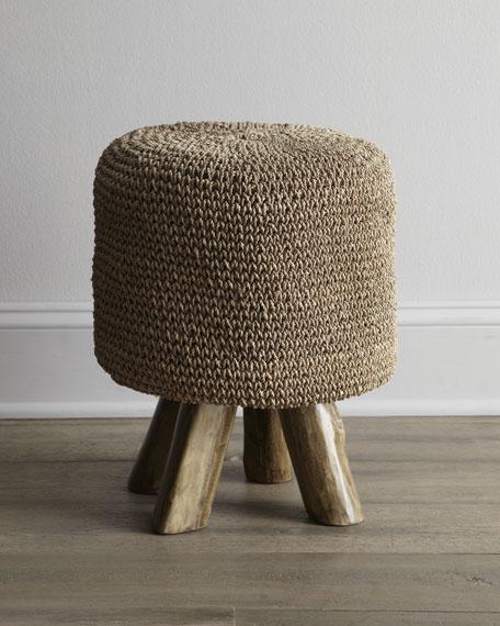 Woven Footstool