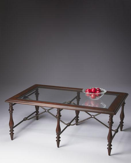 Mixed-Media Coffee Table