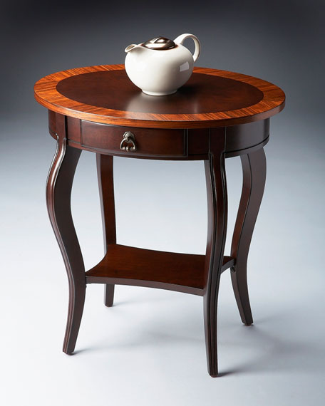 """Nouveau"" Oval Accent Table"
