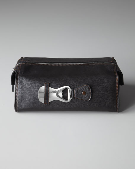 Toiletry Bag with Shoe Horn