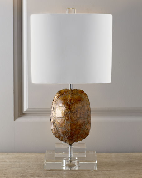 """Gold Tortoise"" Mini Lamp"