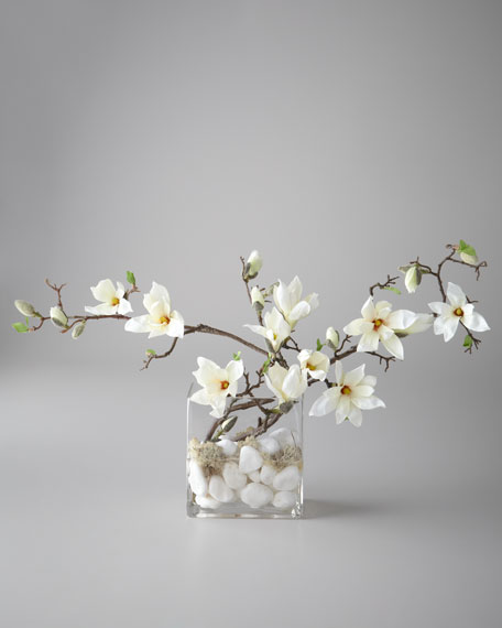 """Flowing Magnolia"" Floral Arrangement"