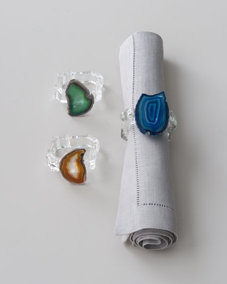 "Pair of ""Aleotto"" Napkin Rings"