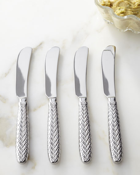 "Four ""Equestrian Braid"" Spreaders"