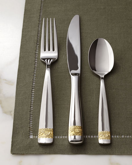 "Five-Piece ""Crestwood"" Flatware Place Setting"