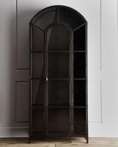 """""""Taylor"""" Metal Curio Cabinet"""