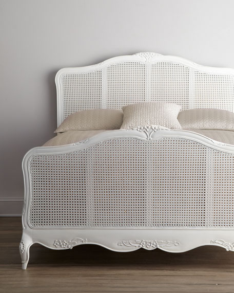 Quot Elliana Quot Queen Cane Bed