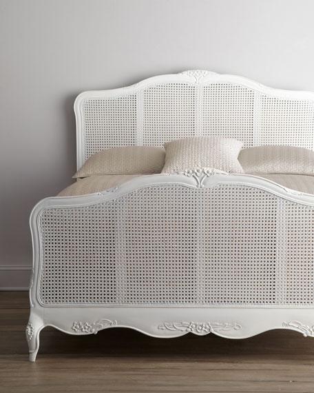 """""""Elliana"""" Queen Cane Bed"""