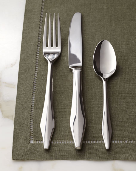 "Five-Piece ""Castle Peak"" Flatware Place Setting"