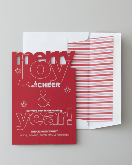 "50 ""Merry"" Christmas Cards"