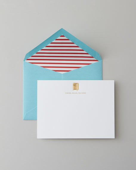 """Signed, Sealed, Delivered"" Notecards"