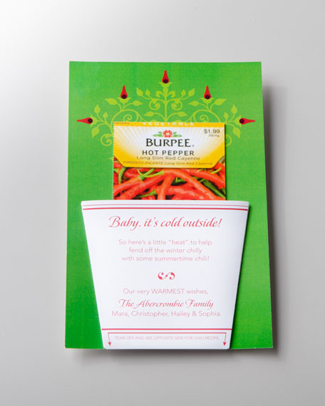 "50 ""Chili Pepper"" Christmas Cards"