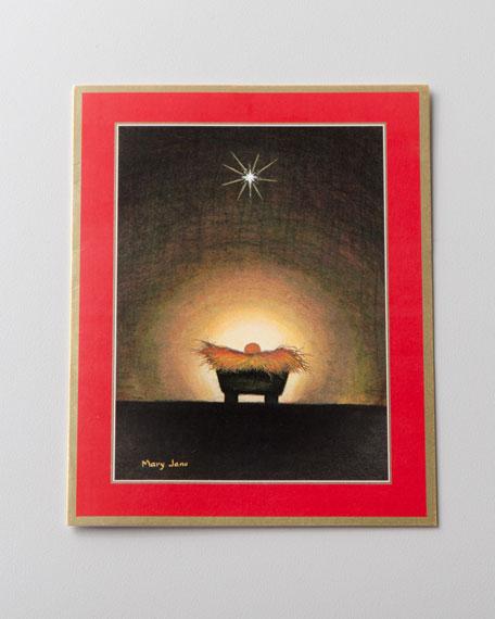 """50 """"Manger"""" Christmas Cards"""