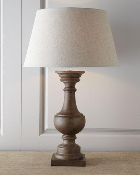 """""""Wood Balustrade"""" Lamp"""