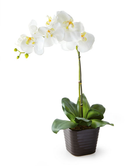 Single Faux Orchid