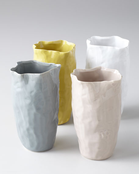 "Four ""Klein"" Colored Vases"