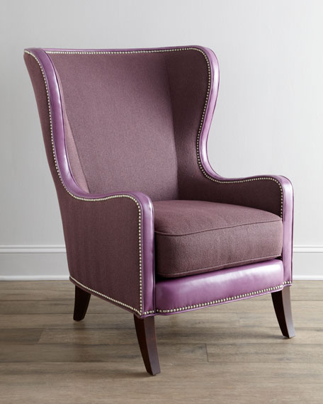 """Rhoda"" Wing Chair"