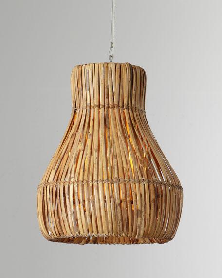 Rattan Woven Hanging Lamp