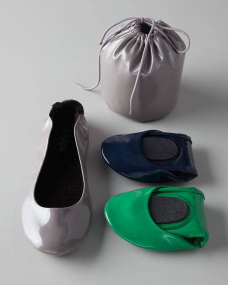 Patent Foldable Ballet Flats